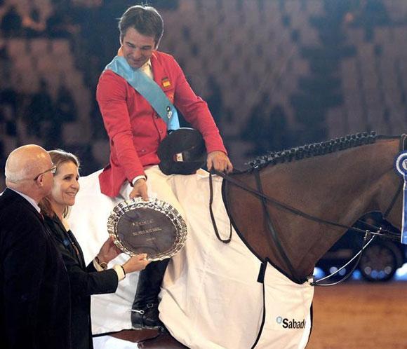 Jesús Garmendia se impuso en el GP Banco Sabadell de la 'Madrid Horse Week'