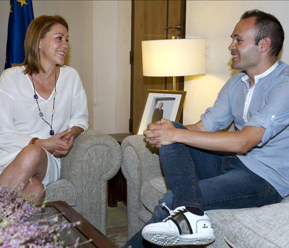 Andrés Iniesta será el embajador del plan 'Castilla-La Mancha más Activa'