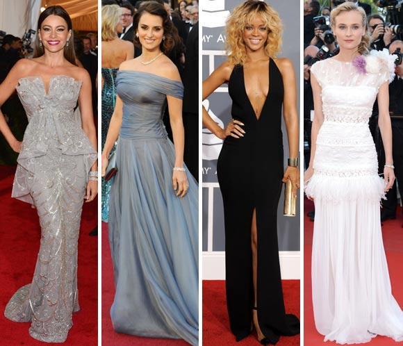 Especial Alfombra roja: Las fiestas y entregas de premios de 2012