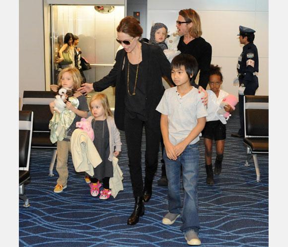Angelina Jolie y Brad Pitt, de vacaciones con sus hijos en las islas Turcas y Caicos