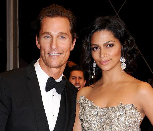 Matthew McConaughey y su esposa Camila han sido padres por tercera vez