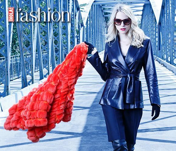 María León posa con las tendencias estrelladel inviernoen ¡HOLA! Fashion