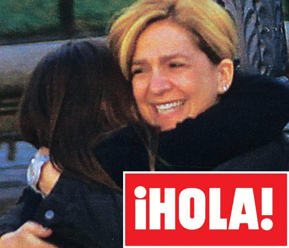 En ¡HOLA!: La infanta Cristina y sus hijos, Navidad feliz y en familia