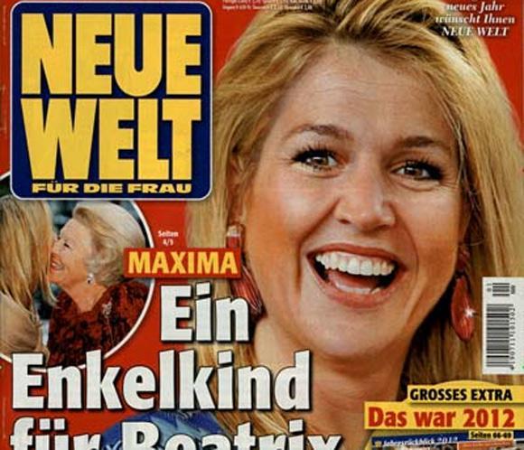 Rumores de embarazo para Máxima de Holanda