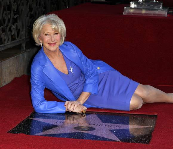 Hollywood se rinde a los pies de Helen Mirren