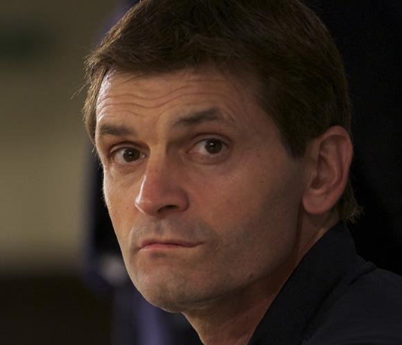 Tito Vilanova, entrenador del Barcelona, está 'animado y muy fuerte' yvolverá al banquillo este domingo