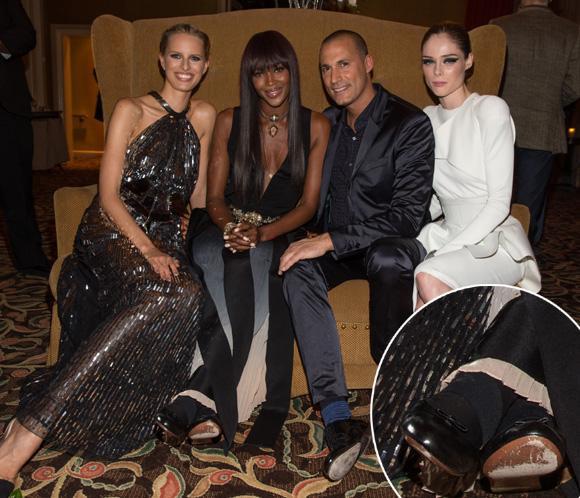 Naomi Campbell reaparece con una gran sonrisa tras la agresión que sufrió hace unos días en París