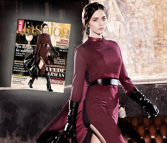 Ana de Armas, portada del nuevo número de ¡HOLA! Fashion