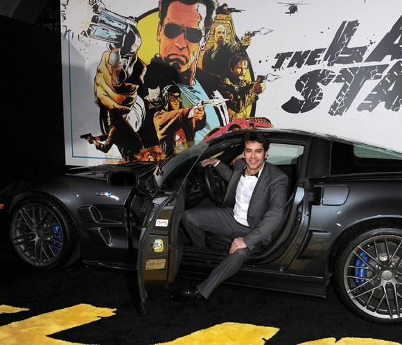 Eduardo Noriega estrena su última película en compañía de Schwarzenegger