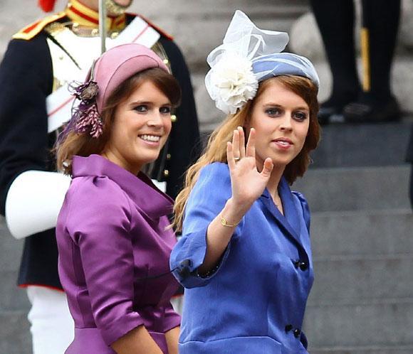 Las princesas Beatriz y Eugenia siguen los pasos de su padre comoembajadoras comerciales del Reino Unido