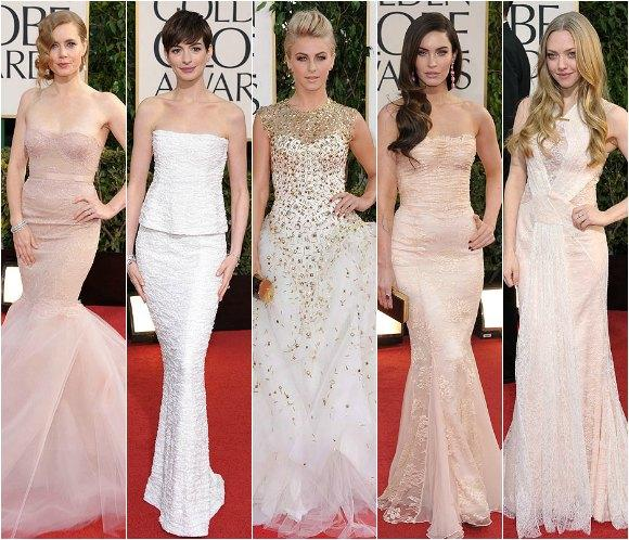 Las 'siete novias' de los Globos de Oro