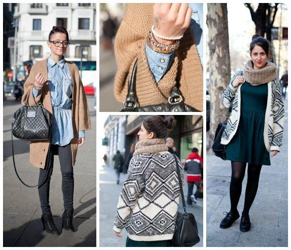 Street Style: Looks y shopping de cárdigans