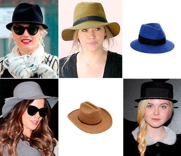 Celebrities con sombreros. Y tú, ¿eres fan de este complemento?