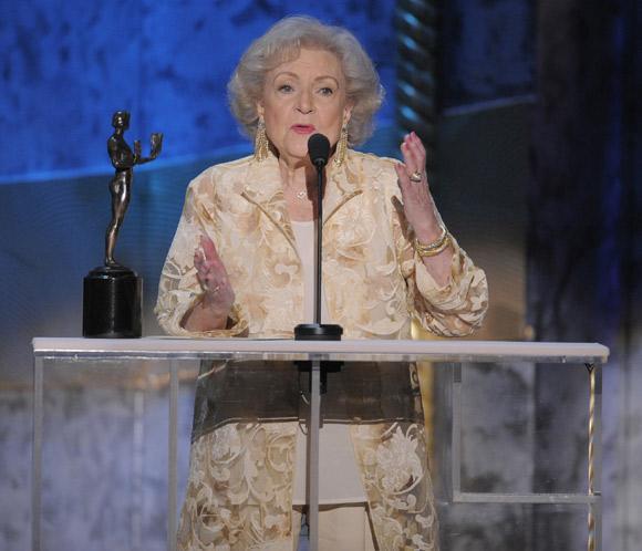 La actriz Betty White cumple 91 años
