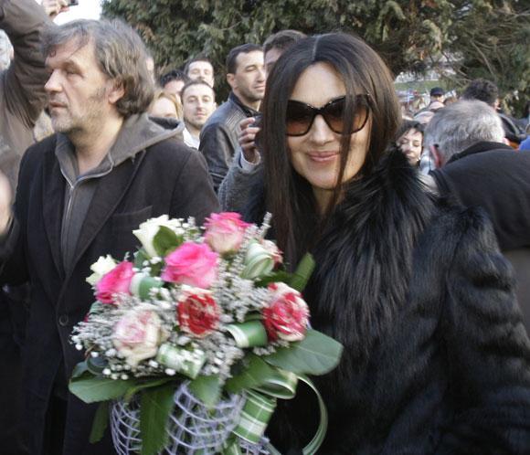Mónica Bellucci protagonizará el nuevo filme de Kusturica