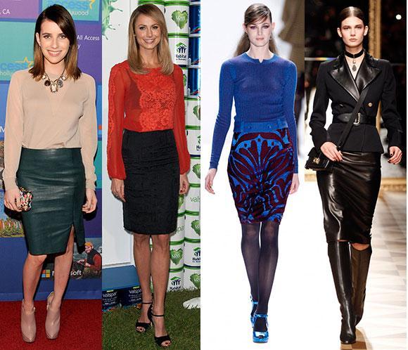 Básicos de estilo: Faldas de tubo, o lápiz, elegancia y femineidad