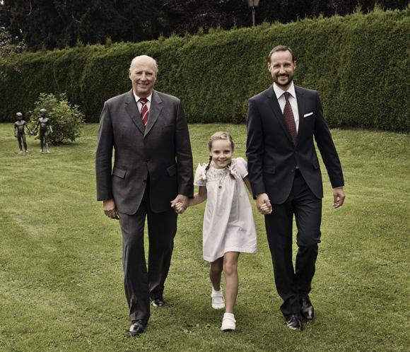 La princesa Ingrid Alejandra cumple 9 años