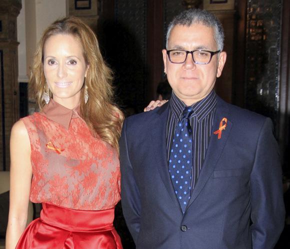 Sandra Ibarra y su novio, Juan Ramón Lucas, unidos en la lucha contra el cáncer