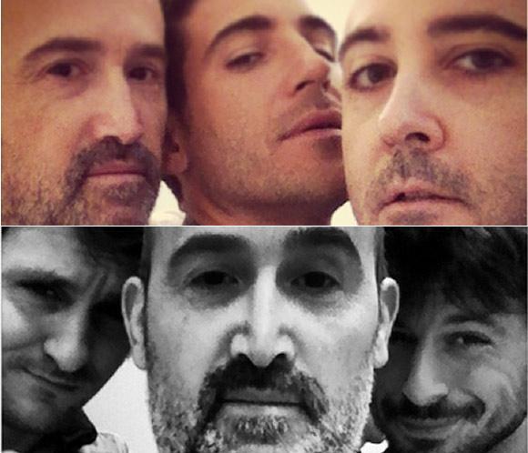 Hugo Silva, Miguel Ángel Silvestre, Javier Cámara y Raúl Arévalo, unos 'amantes pasajeros' inseparables