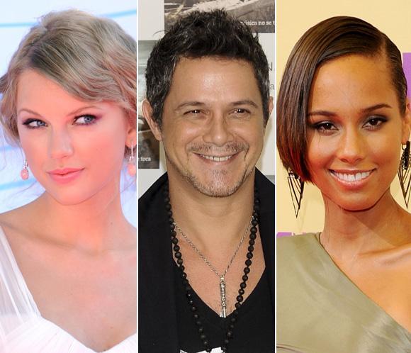 Taylor Swift, Alicia Keys y Alejandro Sanz estarán en la entrega de los Premios 40 Principales