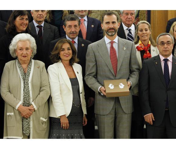 El Príncipe de Asturias acepta la Presidencia de Honor de la candidatura Madrid 2020