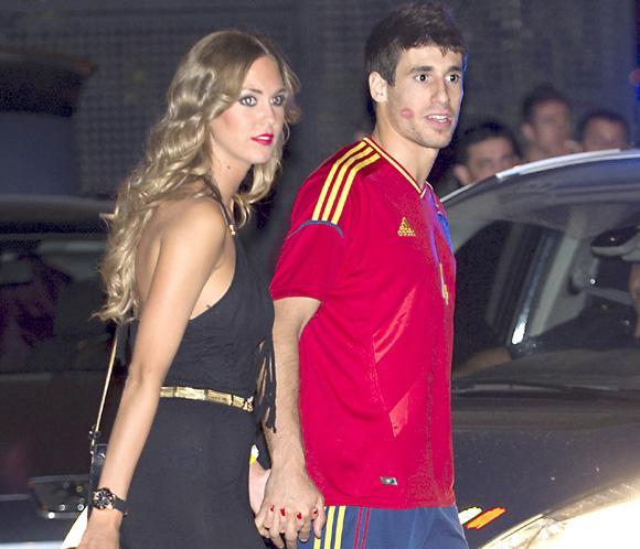 María Imízcoz, novia del futbolista españolJavi Martínez, es la mujer más guapa de la Bundesliga