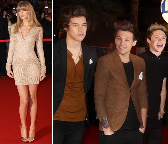 Taylor Swift coincide con su ex, Harry Styles, en una noche de premios en Cannes