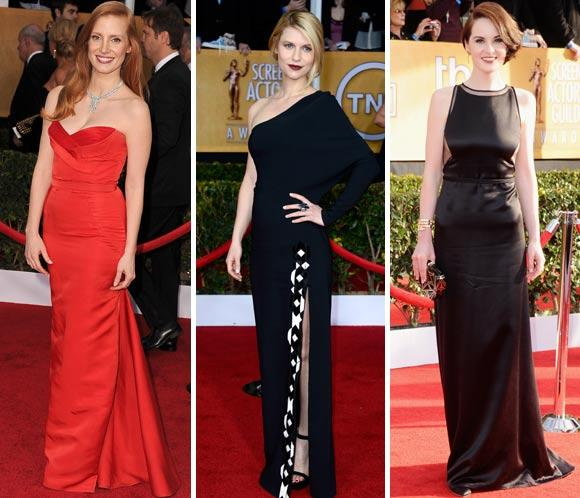 Foto a foto, los mejores 'looks' de la alfombra roja de los SAG Awards 2013