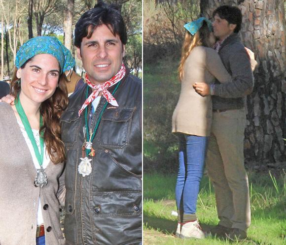 Francisco Rivera y Lourdes Montes, dos enamorados en El Rocío