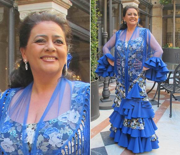 María del Monte recoge su premio 'Flamenca con Arte 2013'