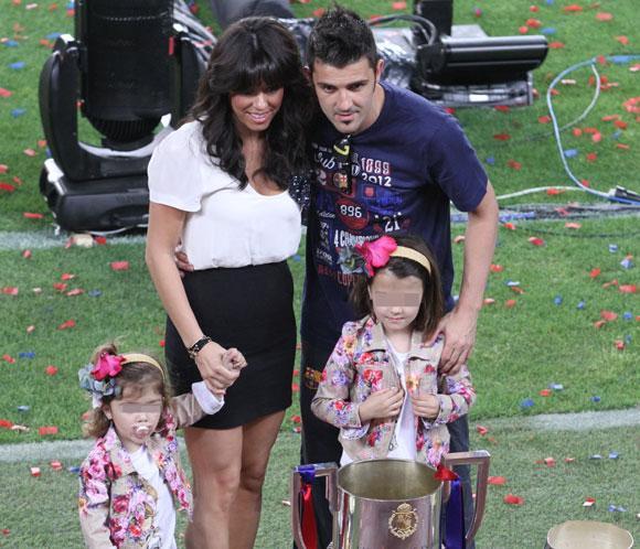 David Villa ha sido padre de un niño llamado Luca