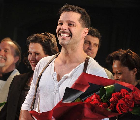 Ricky Martin se despide de 'Evita': 'Ha sido una experiencia maravillosa'