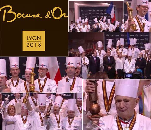 La cocina francesa, triunfadora en el prestigioso concurso de cocina 'Bocuse d'Or'