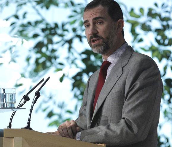 El Príncipe de Asturias cumple 45 años