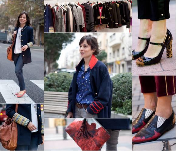 Street Style: Tendencia militar 'real', con La Condesa.