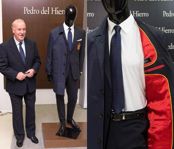 La Selección Española de Fútbol tiene nuevo traje oficial
