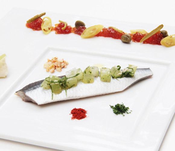 Recetas 'Le Cordon Bleu': Sardinas en vinagreta de uvas