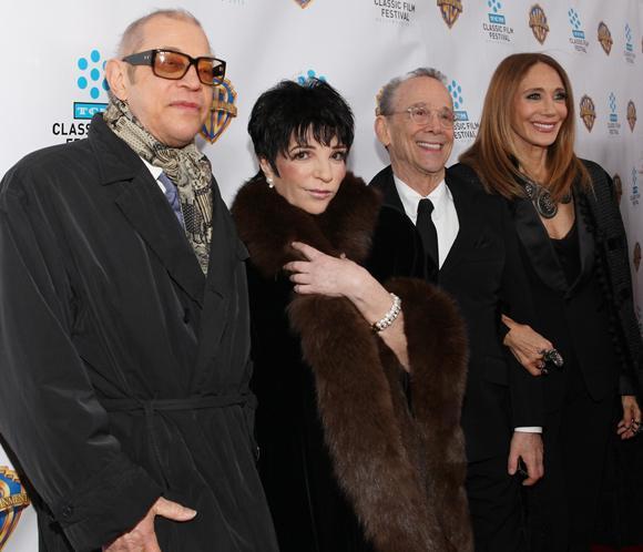 Liza Minnelli celebra el 40º aniversario de 'Cabaret' rodeada de amigos