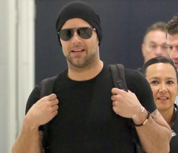 Ricky Martin aterriza en Sydney para participar como jurado de la versión australiana de 'La Voz'