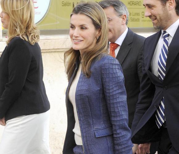 La Princesa Letizia pide un compromiso con las personas con enfermedades raras