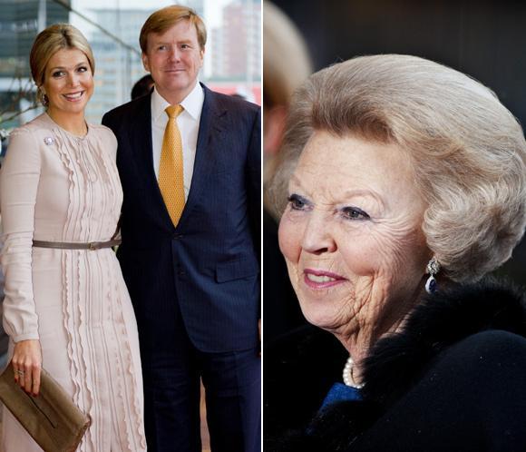 Guillermo de Holanda en el 75º cumpleaños de la reina Beatriz: 'Es un honor suceder a mi madre y poder servir a este país'