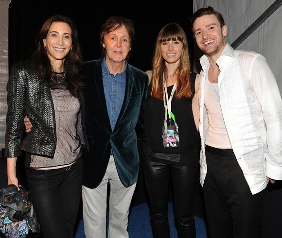 Jessica Biel, el mejor apoyo de Justin Timberlake en su regreso a los escenarios