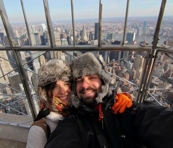Raquel Sánchez Silva y Mario Biondo, romántica escapada a Nueva York