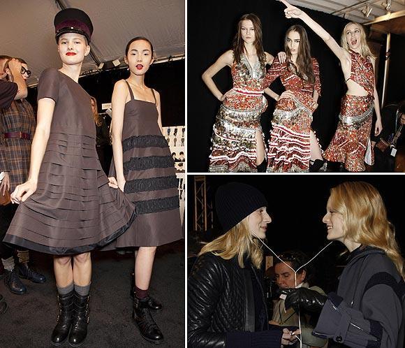 En el 'backstage' de... la Semana de la Moda de Nueva York
