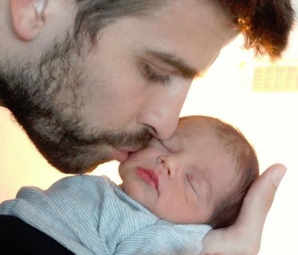 Así es Milan, el primer hijo de Shakira y Piqué