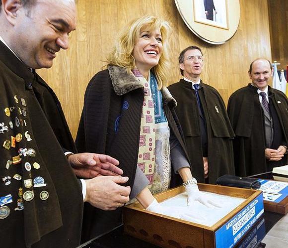 Susanna Griso pregona la XLV Feria del Cocido de Lalín