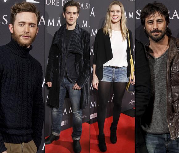 Nuestros actores y actrices de moda, diespuestos a pasar miedo con 'Mamá', la nueva película de Guillermo del Toro