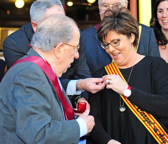 María Escario, coronada en Barcelona como la 'Reina del Caracol'