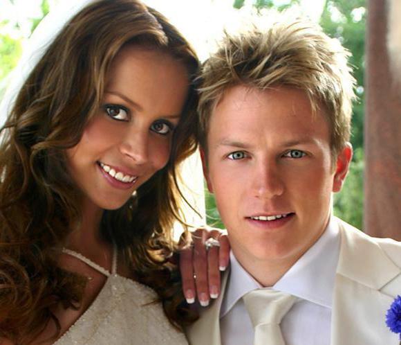 Kimi Räikkönen se ha separado de su esposa, según la prensa finlandesa