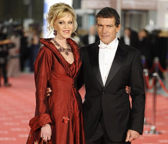 Antonio Banderas dirigirá a Melanie Griffith en 'Akil'
